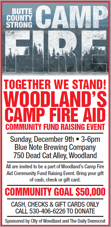 Camp Fire Aid Fundraiser