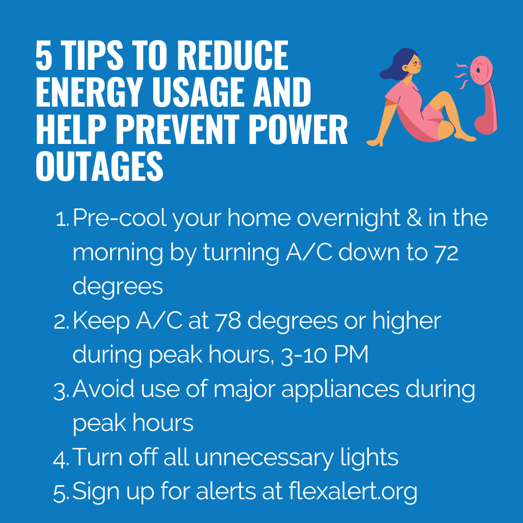 5 Tips to Reduce Energy Usage and Help Prevent Power Outages